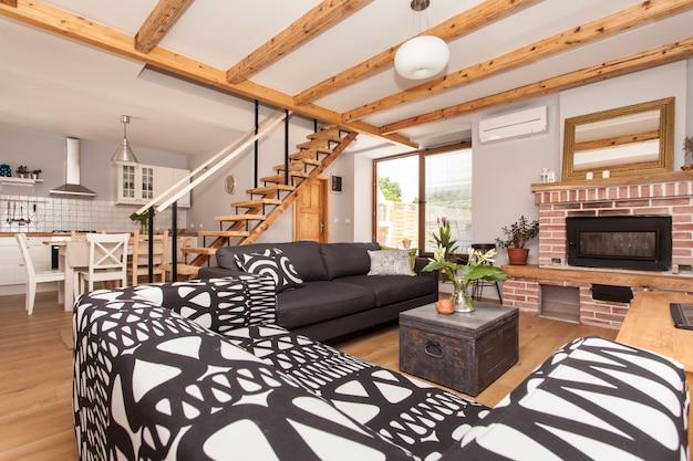 Design d'intérieur de luxe Photo Premium