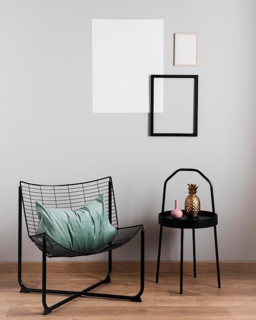 Design D'intérieur Minimaliste Photo Premium