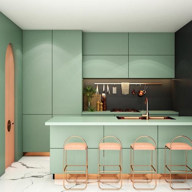 Design D'intérieur Pour Garde-manger Dans Un Style Moderne Photo Premium