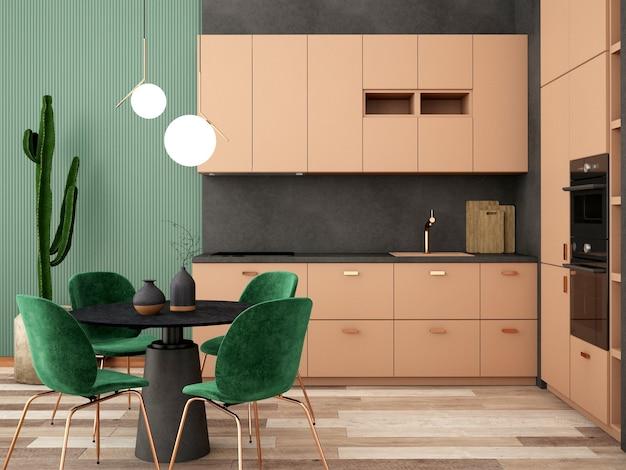 Design D'intérieur Pour Garde-manger Dans Un Style Scandinave Photo Premium