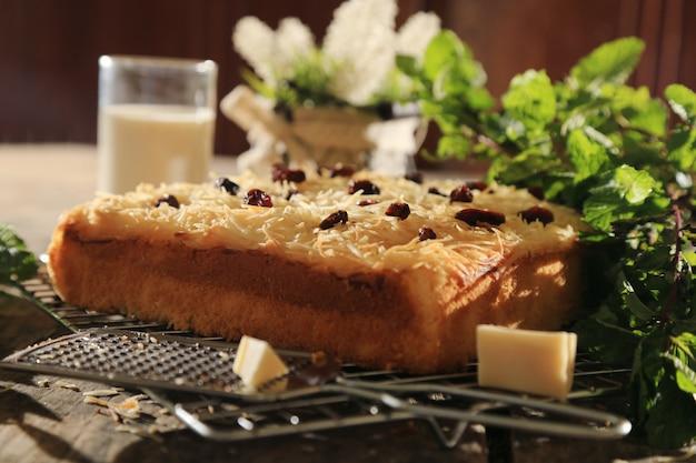 Dessert au fromage Photo Premium