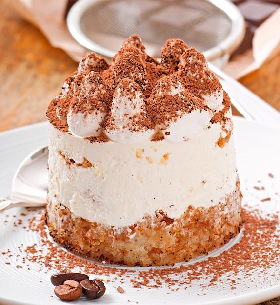 Dessert Tiramisu Photo gratuit