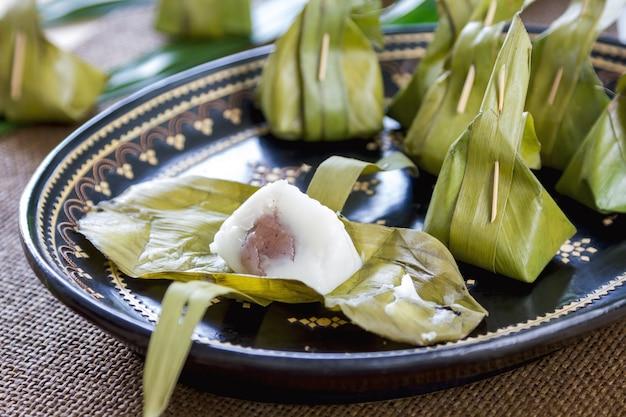 Dessert Traditionnel Thaïlandais Photo Premium
