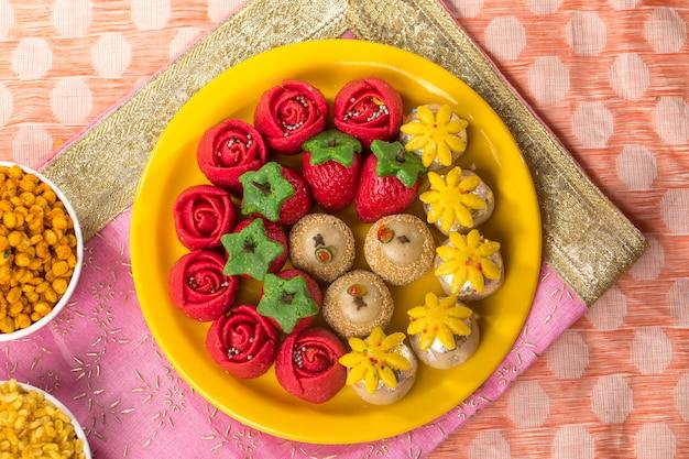 Desserts sucrés Photo Premium