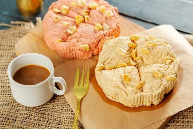 Desserts traditionnels orientaux Photo Premium