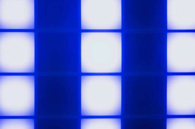 Dessin abstrait de cubes de lumière bleue néon Photo gratuit