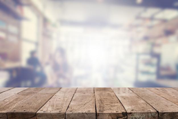 Dessus de table avec fond Photo gratuit