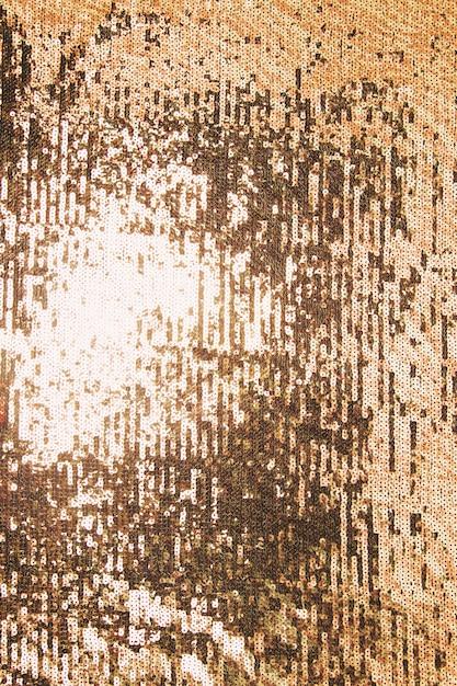 Détail de paillettes d'or brillant en arrière-plan Photo gratuit