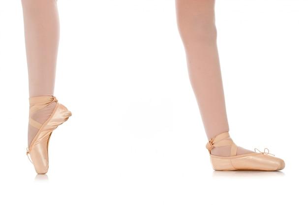 Détail des pieds de la danseuse Photo Premium