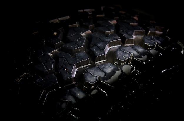 Détail des pneus Photo Premium
