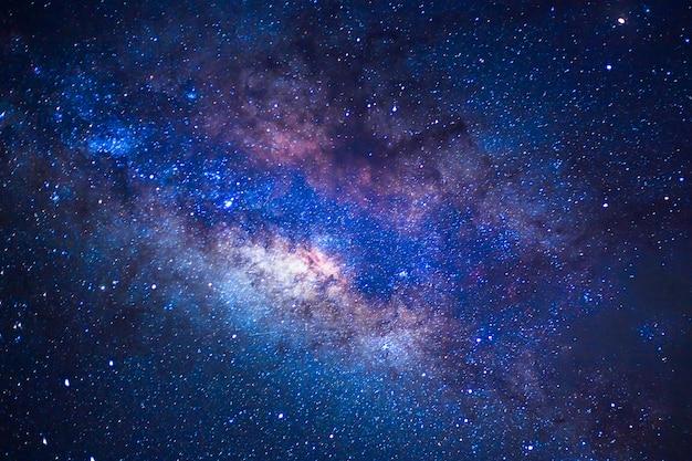 Détail De La Voie Lactée, Exposture à Grande Vitesse Photo Premium