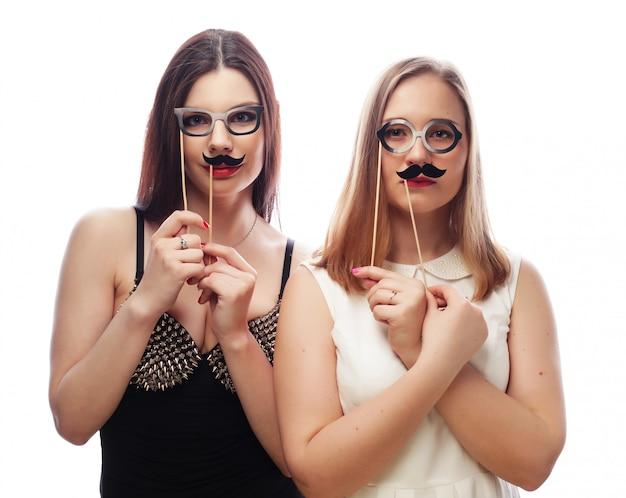 Deux Meilleures Amies Sexy Filles Sexy Photo Premium