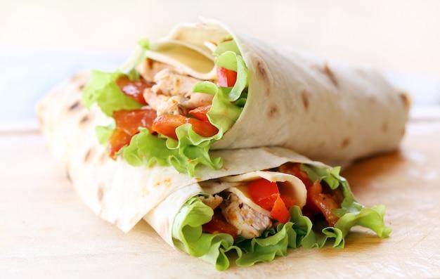 Deux Tortillas Photo gratuit
