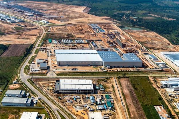 Développement De Terrains Industriels Photo Premium