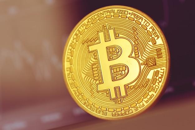Diagramme monétaire crypto bitcoin Photo Premium
