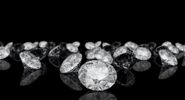 Diamant coupe classique Photo Premium