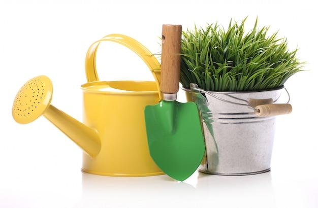 Différentes Choses De Jardinage Photo gratuit