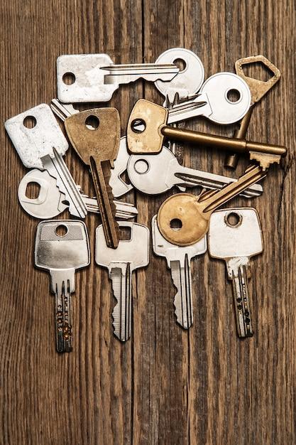 Différentes clés Photo Premium