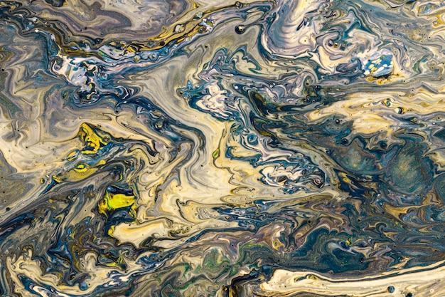 Différentes teintes colorées acrylique art contemporain Photo gratuit