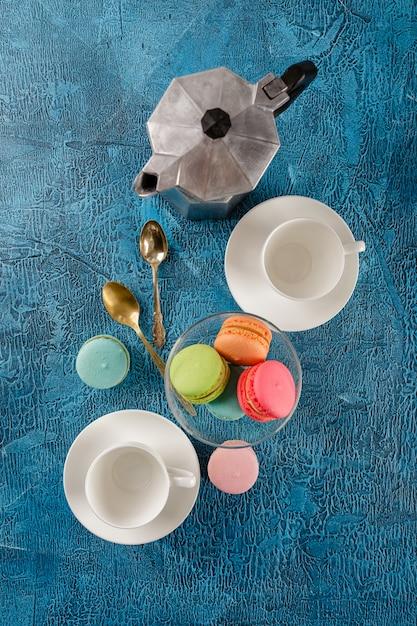 Différents types de macarons Photo Premium