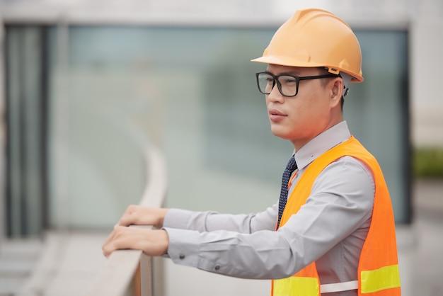 Directeur de la construction Photo gratuit