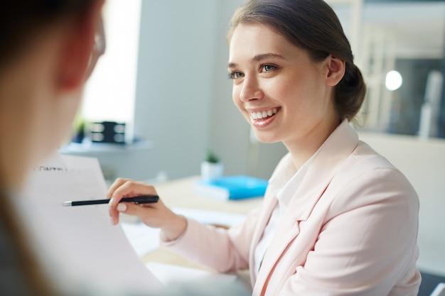 Discussion de comptables Photo gratuit