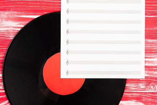 Disque vinyle Photo gratuit