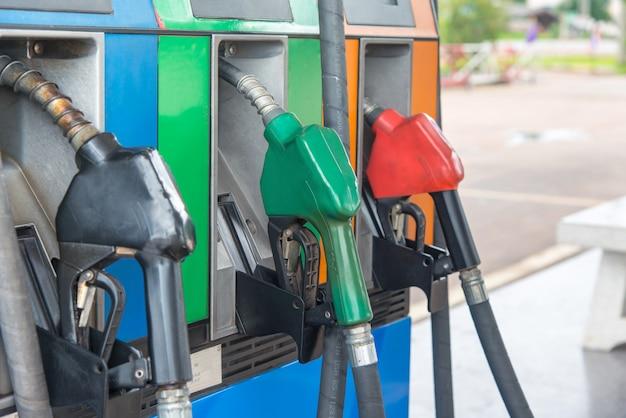 Distributeur de carburant Photo Premium
