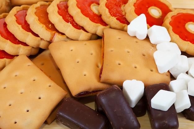 Divers bonbons Photo gratuit