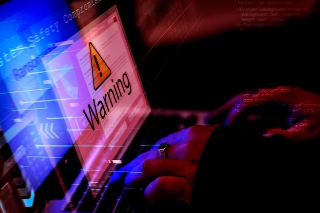 Divers plans de piratage informatique Photo Premium