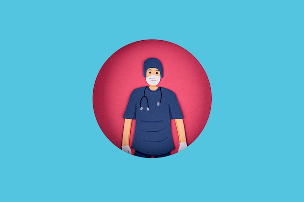 Docteur En Papier Photo gratuit