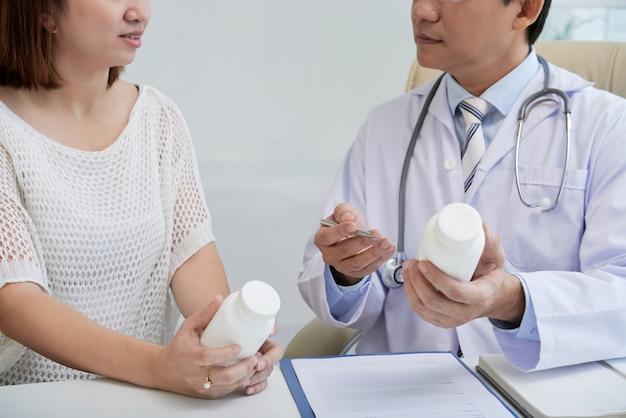 Docteur prescription des pilules Photo gratuit