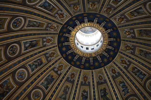 Le Dôme De La Chapelle Sixtine Au Vatican Photo Premium