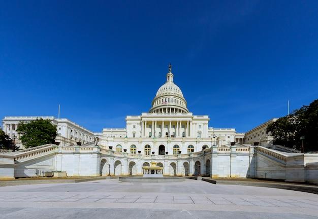 Dôme du bâtiment du capitole des états-unis, washington dc. Photo Premium