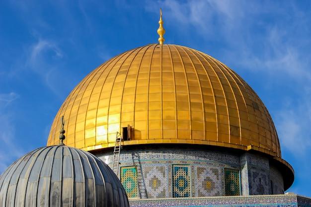 Dôme Du Rocher à Jérusalem Photo Premium
