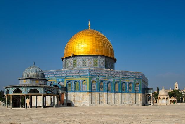 Dôme De La Mosquée Du Rocher Photo Premium