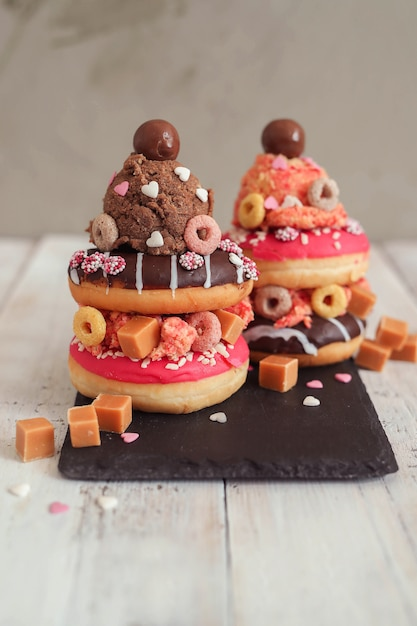 Donut Sucré Photo gratuit