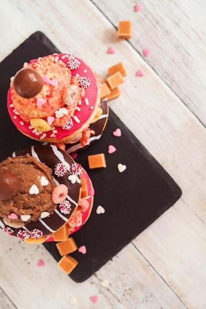 Donut Sucré Photo gratuit