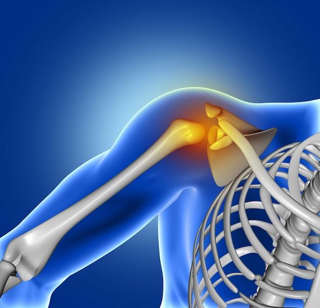 Douleur d'articulation de l'épaule Photo gratuit