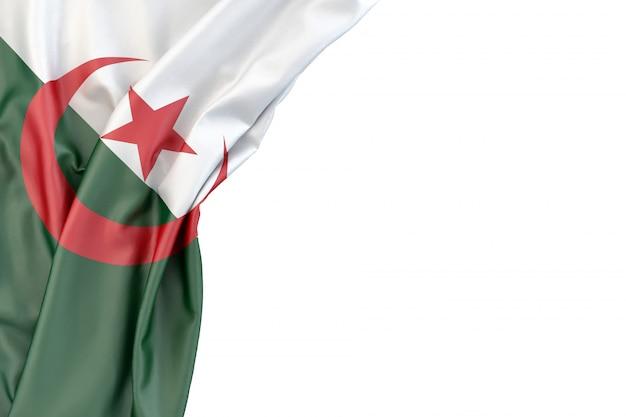 Drapeau De L'algérie Photo Premium
