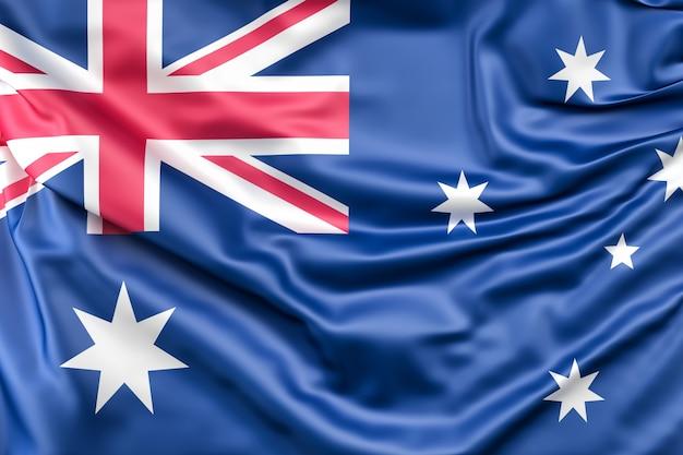 Drapeau de l'australie Photo gratuit
