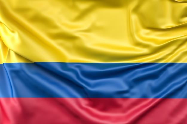 Drapeau De La Colombie Photo gratuit