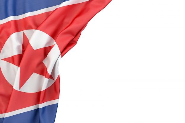 Drapeau De La Corée Du Nord Photo Premium