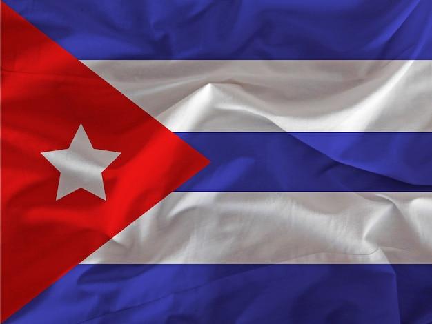 Drapeau Cubain Photo Premium