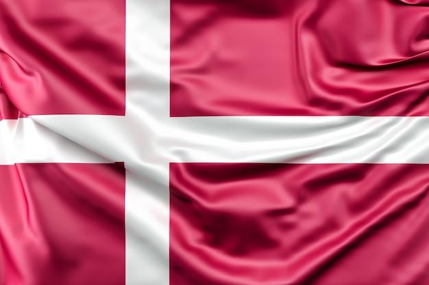 Drapeau Du Danemark Photo gratuit