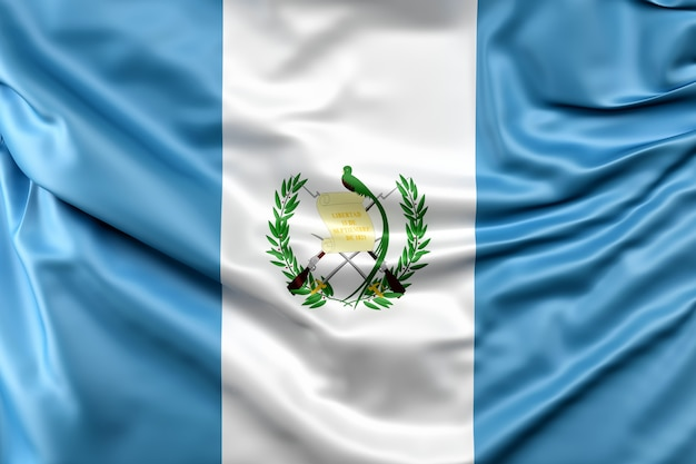 Drapeau du guatemala Photo gratuit