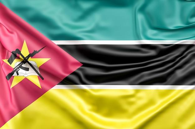 Drapeau Du Mozambique Photo gratuit