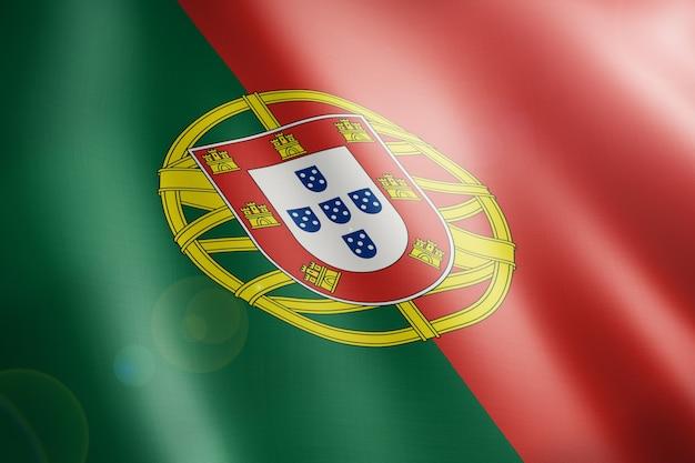 Drapeau Du Portugal Photo Premium
