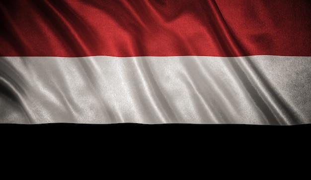 Drapeau Du Yémen Photo Premium