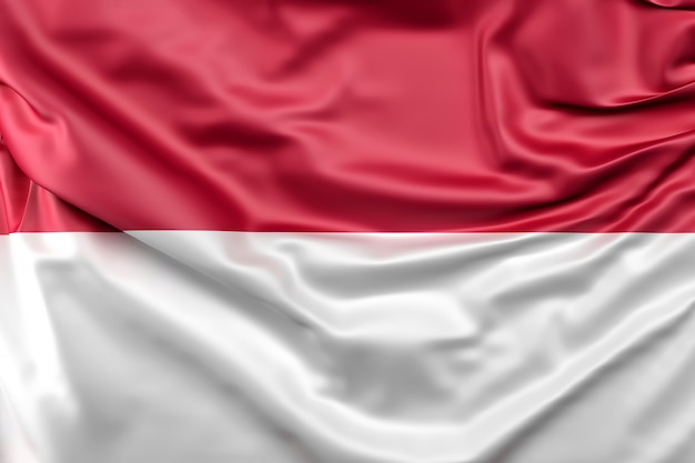 Drapeau De L'indonésie Photo gratuit